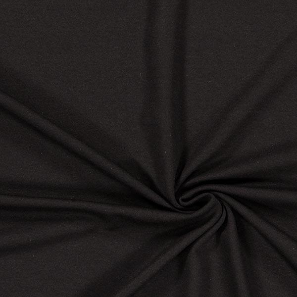 Jersey viscose Médium – noir