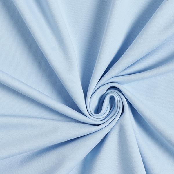 Jersey de coton gratté Uni – bleu clair