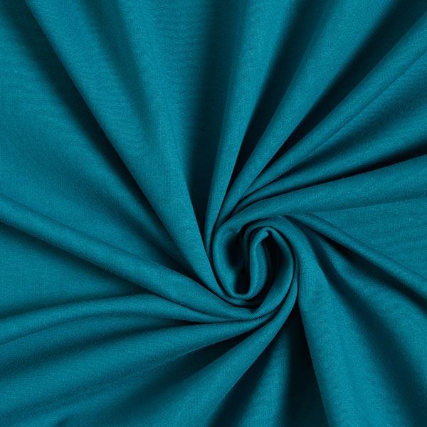 Jersey de coton gratté Uni – pétrole