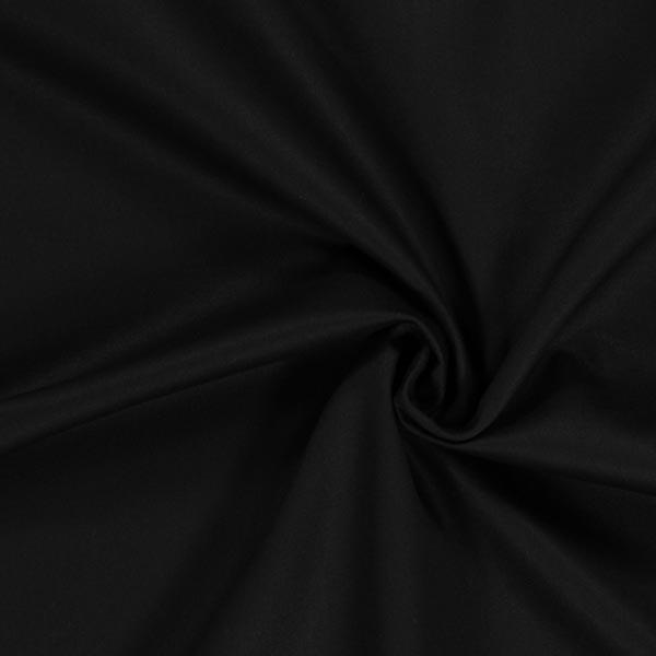 Tissu croisé en coton – noir