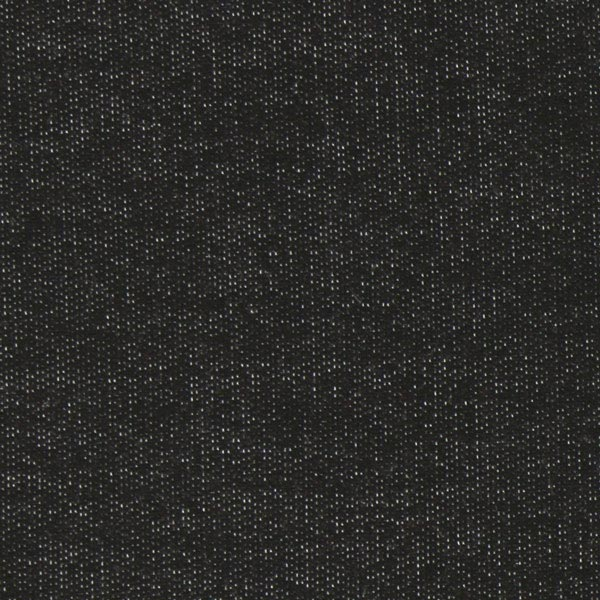 French Terry Sweat d'été viscose mélange – noir