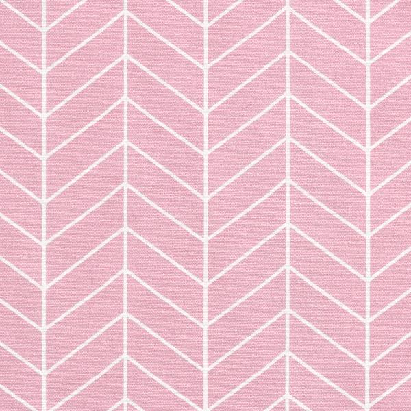 Dekostoff Canvas Geometrisches Muster – rosa