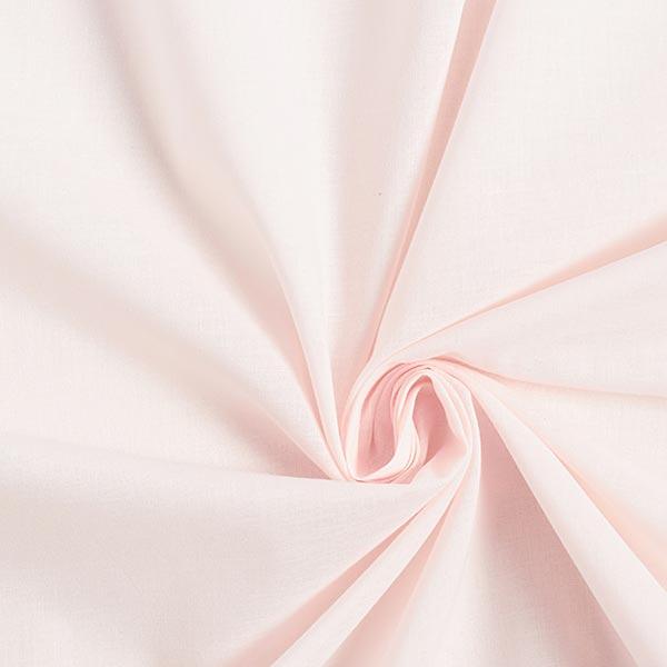 Batiste de coton Uni – rose clair