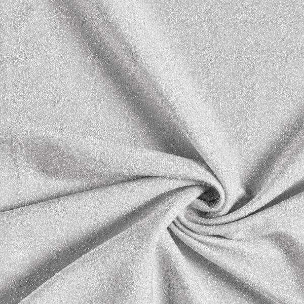 Jersey scintillement Lametta Glamour  – argent