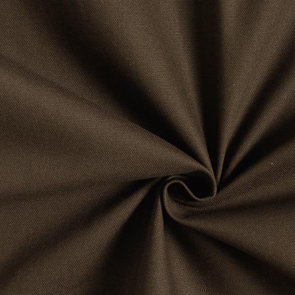Dekostoff Canvas – dunkelbraun