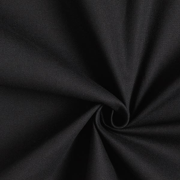 Dekostoff Canvas – schwarz