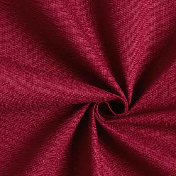 Tissu de décoration Canvas – rouge bordeaux