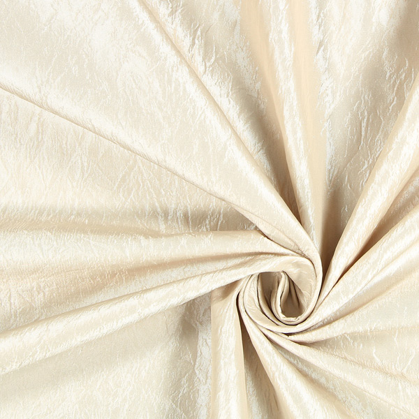 Tissu de décoration Crash brillant – beige