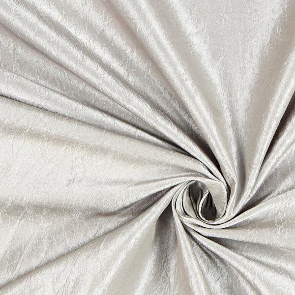 Tissu de décoration Crash brillant – gris clair