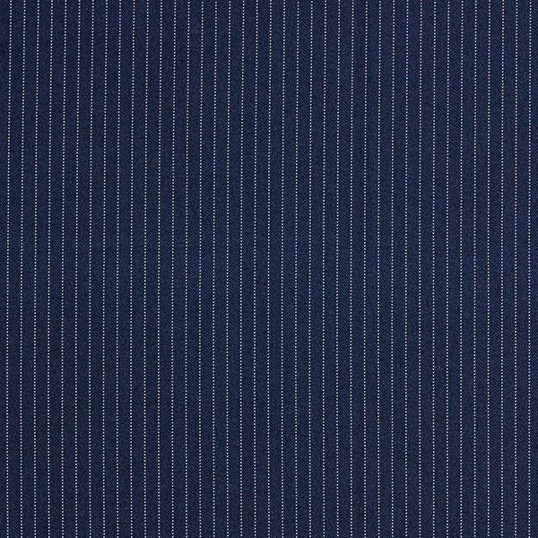 Tissu de costume fil-à-fil Fin 5 mm – bleu marine