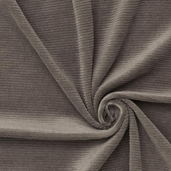 Jersey Feincord – grau