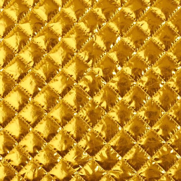 Folien-Steppstoff – gold