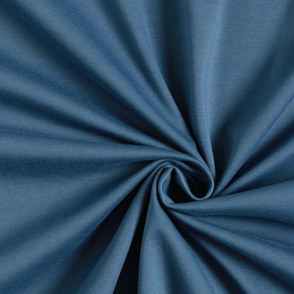 Jersey romanite Coton Uni – bleu jean
