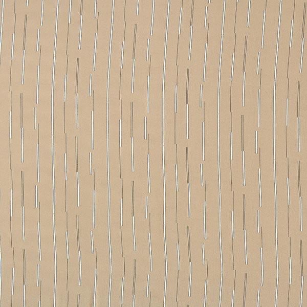 Crêpe Georgette Rayures verticales – sable