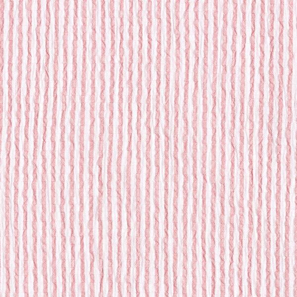 Seersucker Rayures – rose