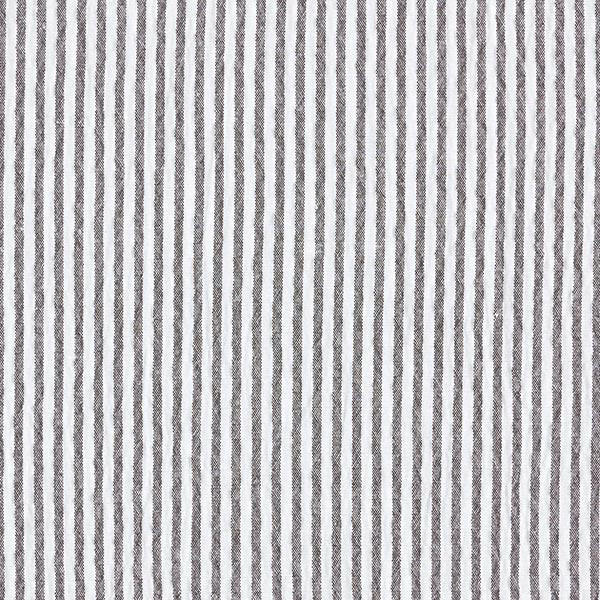 Seersucker Streifen – schwarz