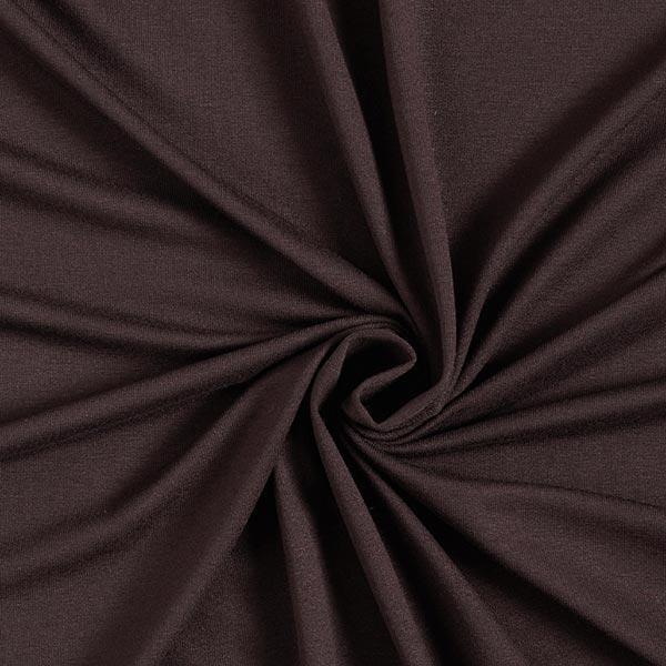 Jersey viscose léger – marron foncé