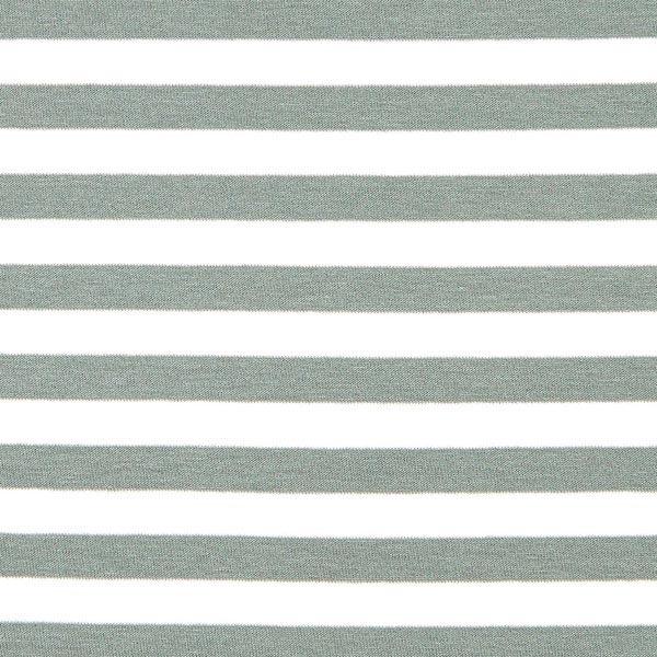 Viskosejersey Streifen – grau