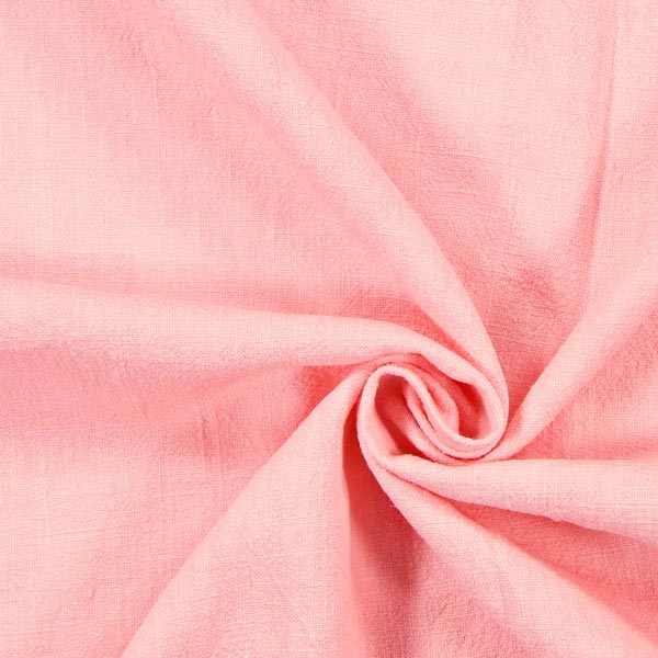 Leinen Stoff, vorgewaschen – rosa