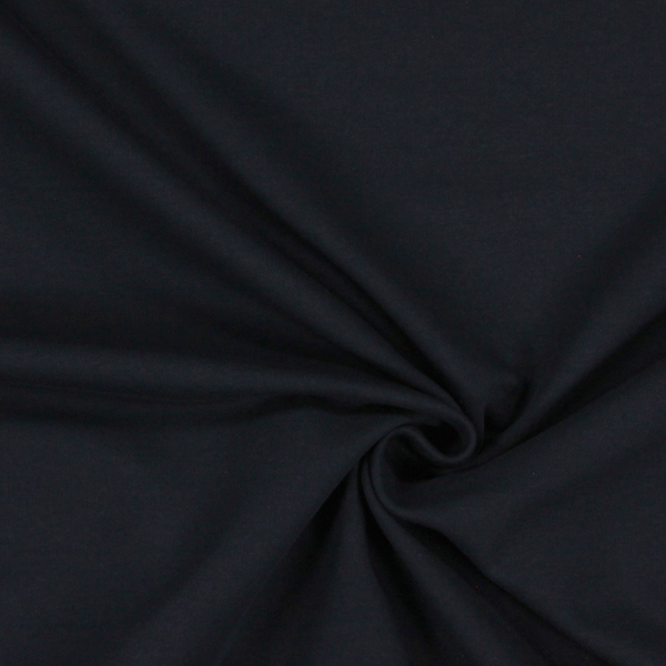 Sweat-shirt lisse – navy