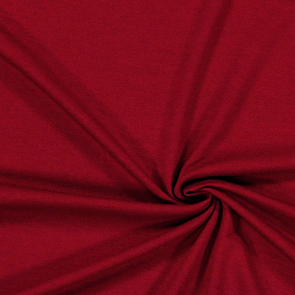 Viskose Jersey Medium – karminrot