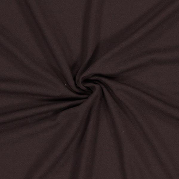 Jersey viscose Médium – marron noir