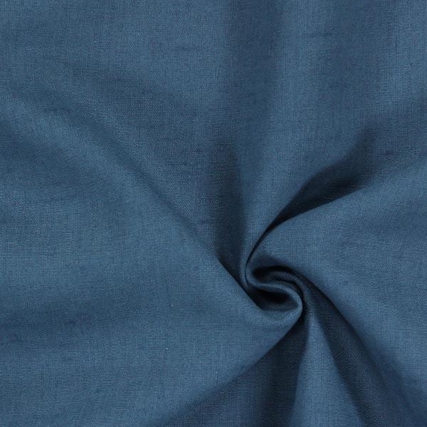Leinen Medium – jeansblau