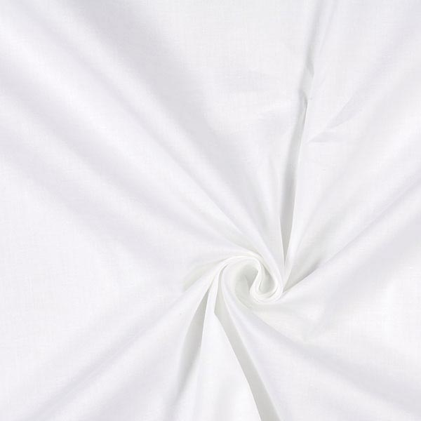 Popeline Stretch – blanc