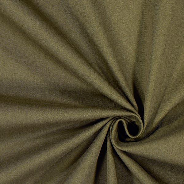 Tissu croisé en coton stretch – olive
