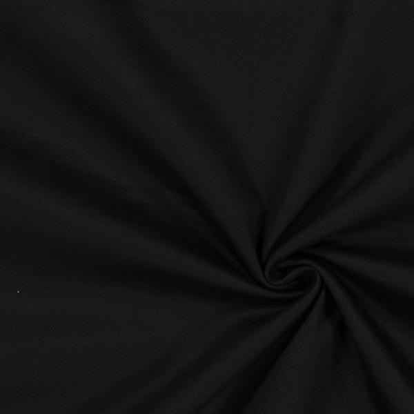Baumwollköper Stretch – schwarz