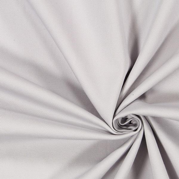 Tissu croisé en coton stretch – gris clair