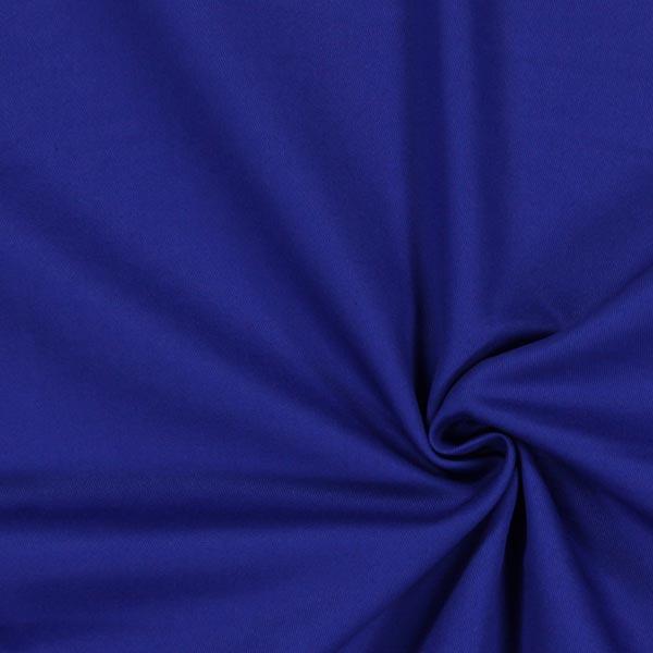 Tissu croisé en coton – bleu roi