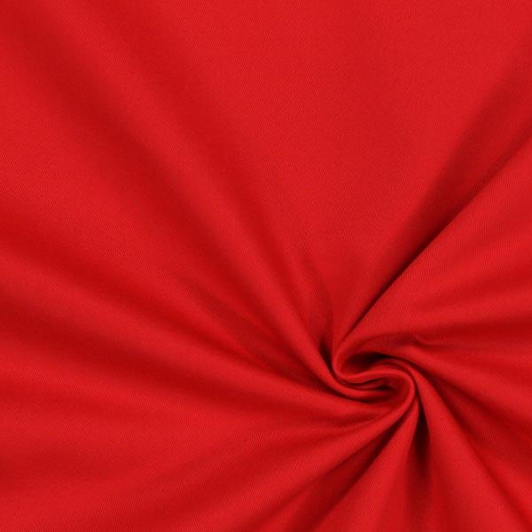 Tissu croisé en coton – rouge vif