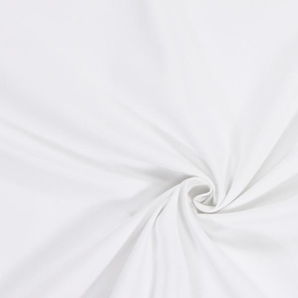 Tissu croisé en coton – blanc