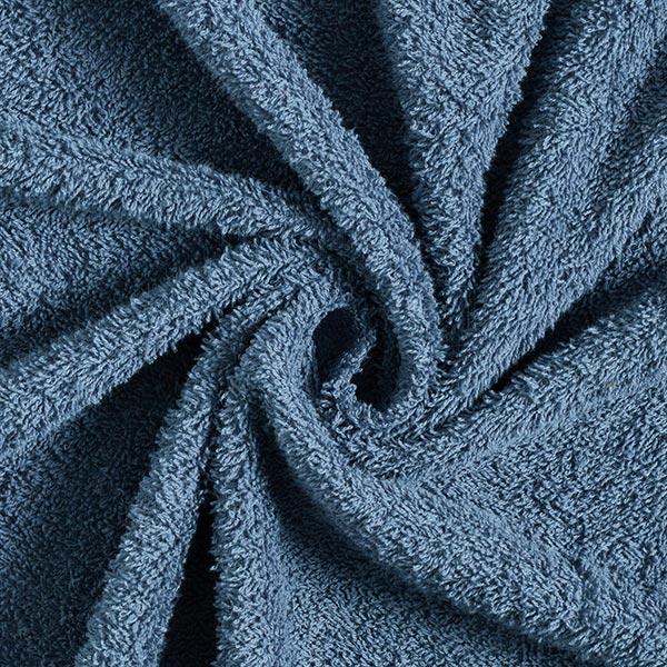 Frotteestoff – taubenblau