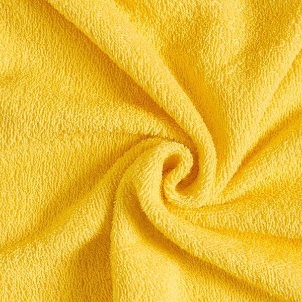 Frottee – gelb