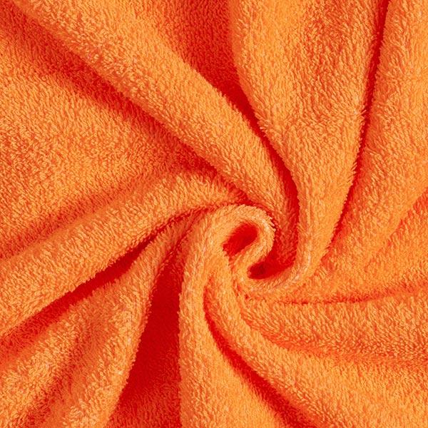 Frotteestoff – orange