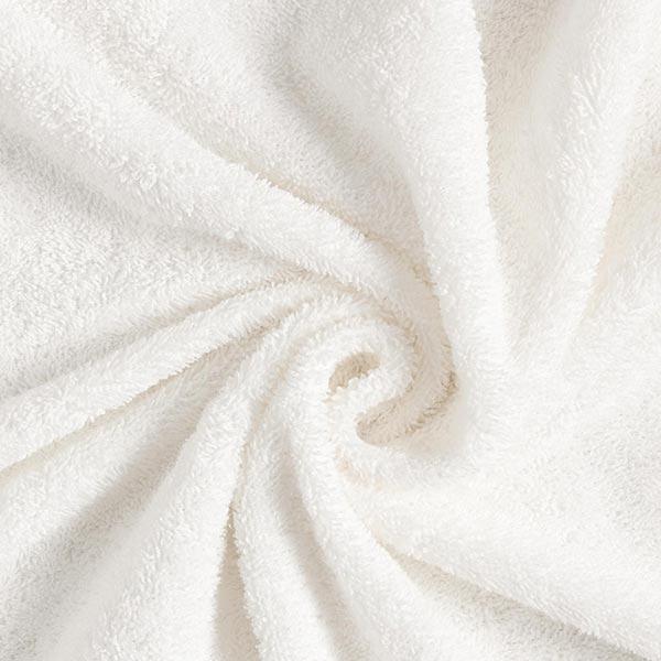 Tissu éponge – écru