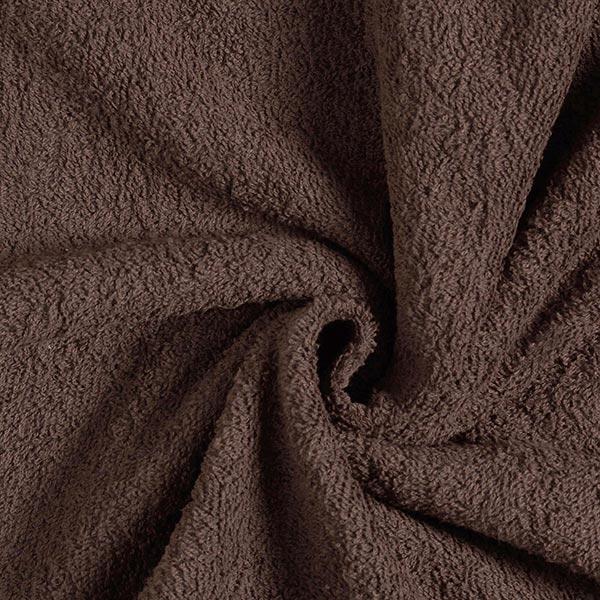 Frotteestoff – dunkelbraun