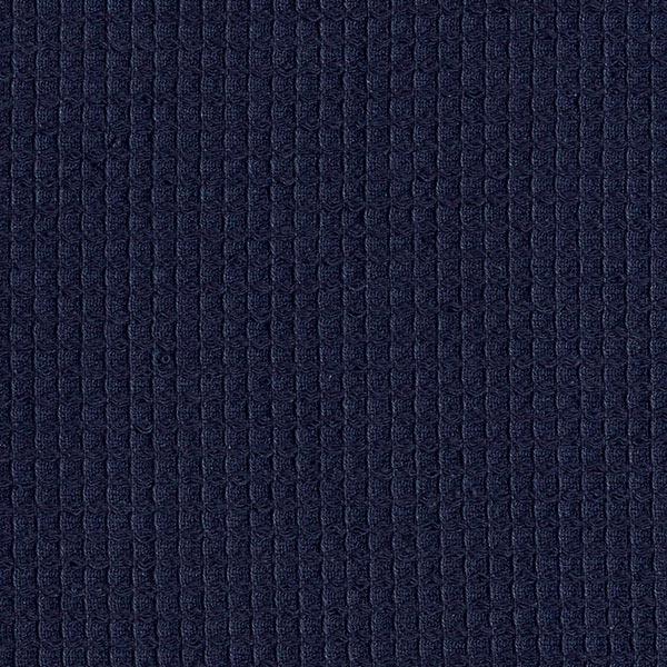 Waffelpiqué – marineblau
