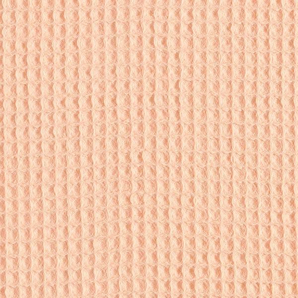 Waffelpiqué – apricot