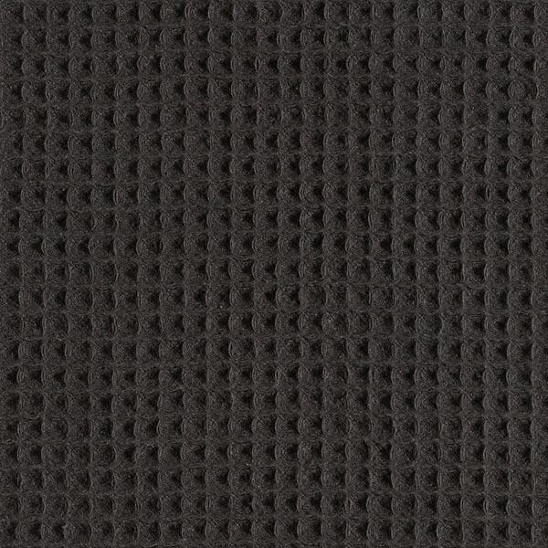 Waffelpiqué – schwarz