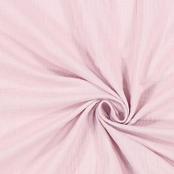 Musselin uni – rosé