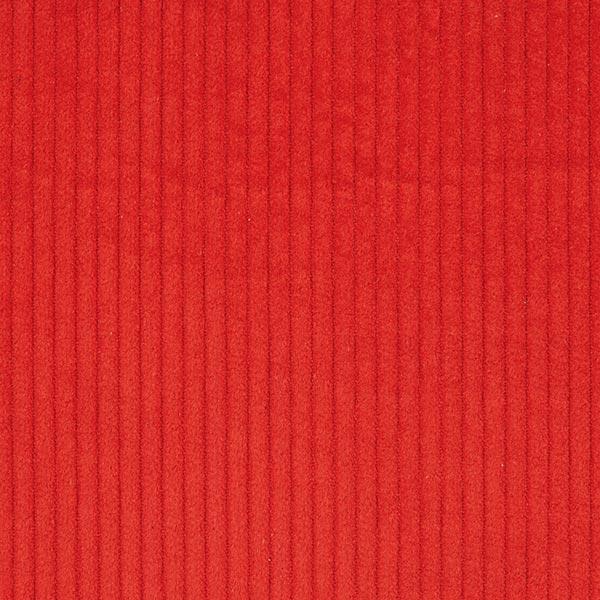 Breitcord einfarbig – signalrot
