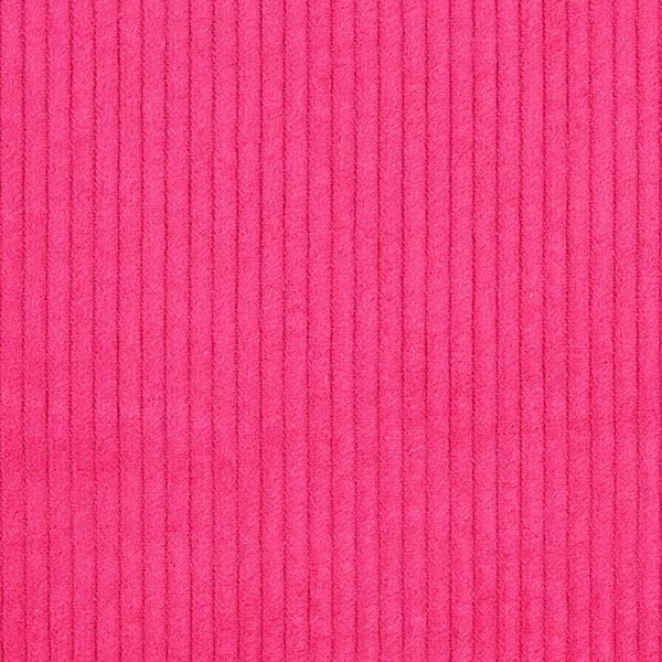 Breitcord einfarbig – hot pink