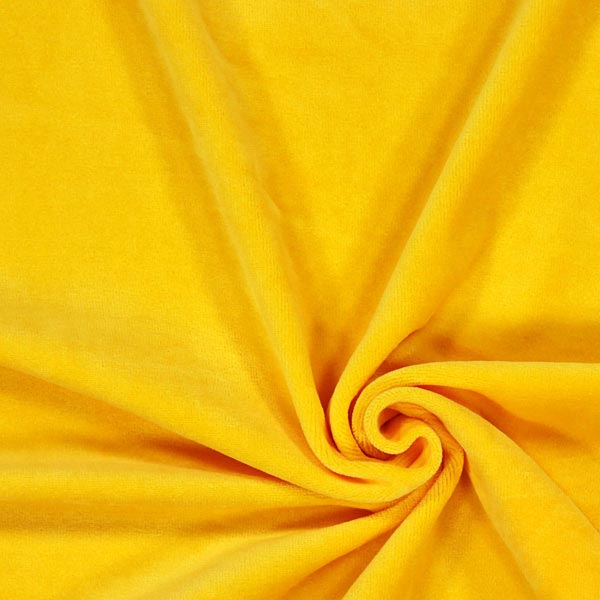 Tissu Nicki Uni – jaune
