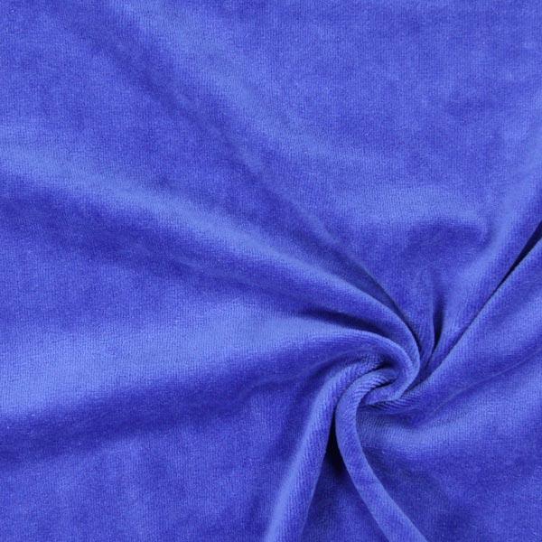Tissu Nicki Uni – bleu roi