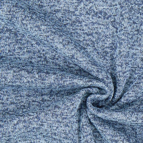 Polaire tricot – bleu