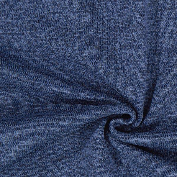 Polaire tricot – bleu marine