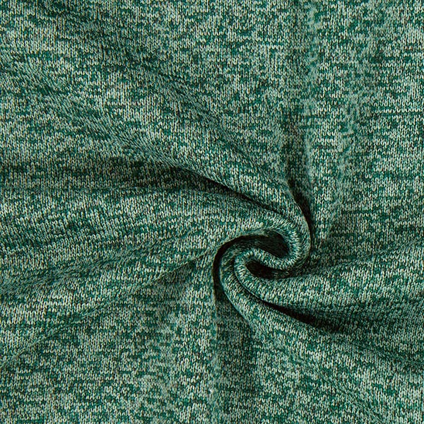 Strickfleece – dunkelgrün